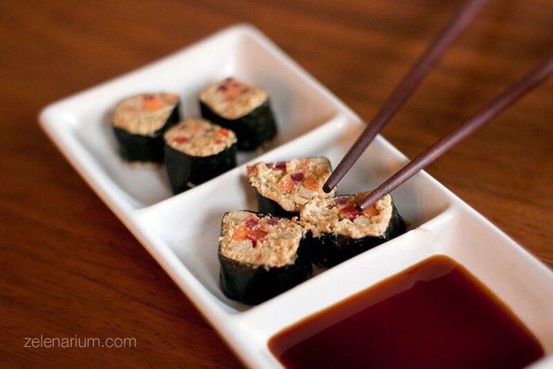 Presne Sushi roladice